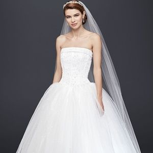 White Wedding Dress (Brand New)